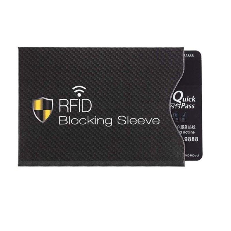 Anti-Skim Kaarthouder beschermhoes van RFID voor bankpas en ID