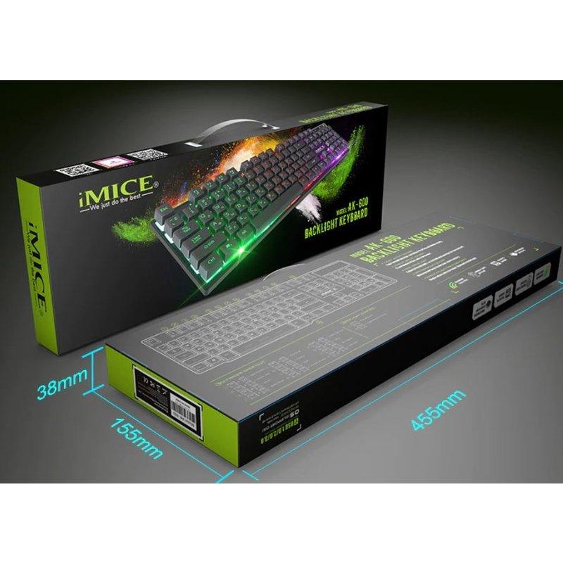 Gaming Toetsenbord Ergonomisch met achtergrondverlichting en Waterbestendig
