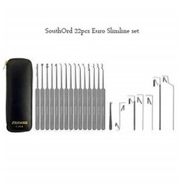 Southord 22-delige Lockpick Set Slim line