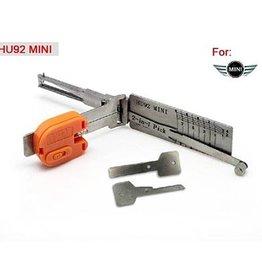 Lishi HU92 V.2 2in1 BMW groep auto open tool incl. sleutels