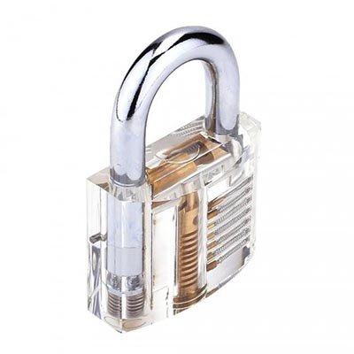 Transparant Oefen slot Hangslot