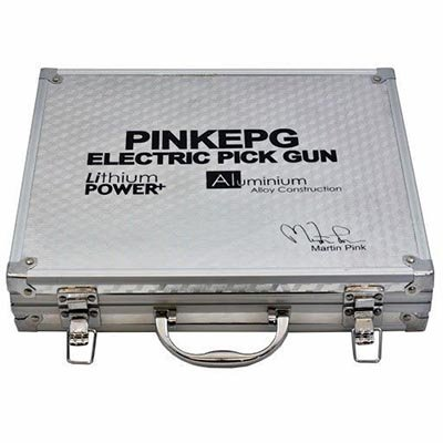 Pistola de ganzúa eléctrica Martin Pink