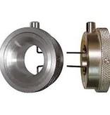 Herramienta de tensión circular con botón de ajuste