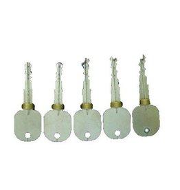 Goso Set da 6 pezzi di grimaldelli di test per aprire le serrature a chiave