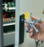 Nyckel för kontrollskåp