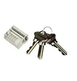 Brockhage Standard Pin Clear Practice Lock
