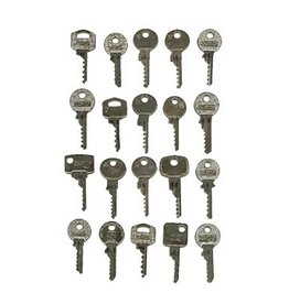 20 Pieces Bump Keys Set