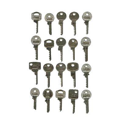 Kit 20 pièces bump keys NL