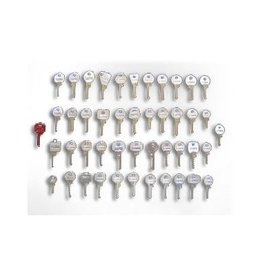 46 Pieces Bump Keys Set