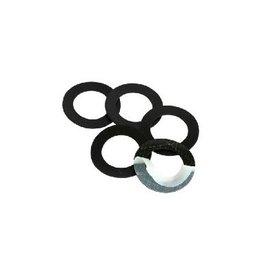 3 anneaux de protection adhésifs en caoutchouc