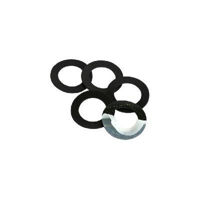 3 anelli adesivi di gomma
