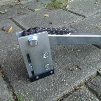 Estrattore del cilindro a catena