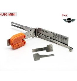 Lishi HU92 V.2 2-in-1 BMW-groep auto open tool inclusief sleutels