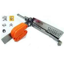 Lishi NE72 Renault Group Car Open Tool including Keys