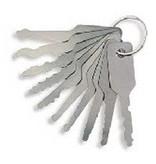 10 Pieces Jiggler Car Lock Pick Set