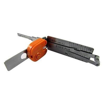 Lishi HU64 V.2 2-i-1 bilöppningsverktyg för Mercedes inklusive nycklar
