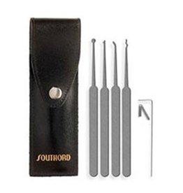 SouthOrd 5-teiliges Lockpick Set für Anfänger