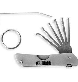 SouthOrd Set di grimaldelli a forma di coltellino tascabile della