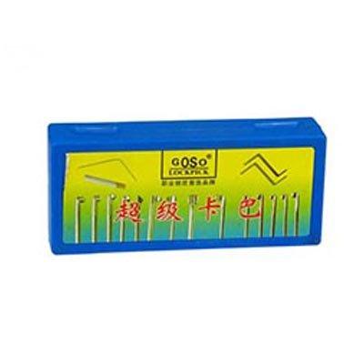 Goso 17-teiliges Dimple Lock Pick Set