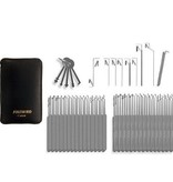 SouthOrd Slim-line 74-teiliges lockpicking set