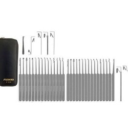 SouthOrd Slim-Line 37-teiliges Lockpicking set