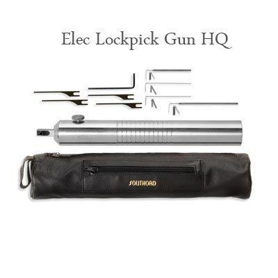 SouthOrd Pistola de ganzúa E500XT eléctrica