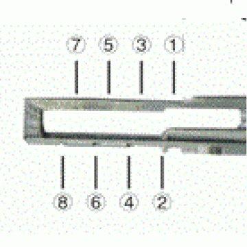 Lishi Attrezzo 2 in 1 per aprire auto del gruppo Audi VW con chiavi incluse