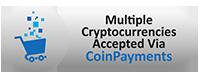 Wir akzeptieren Bitcoins und  Altcoins!