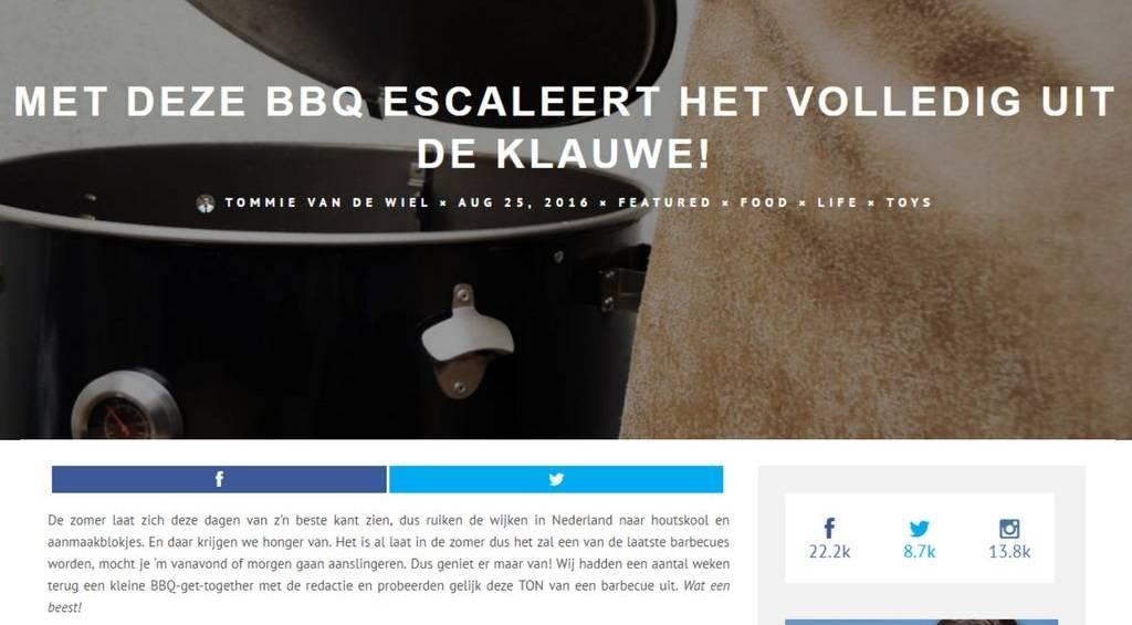 KLAUWE op Manify.nl - Het loopt uit de KLAUWE!