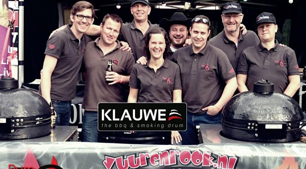 KLAUWE sponsor PureBBQ - Competition Team BBQ