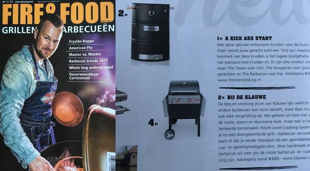 KLAUWE in Fire&Food Magazine