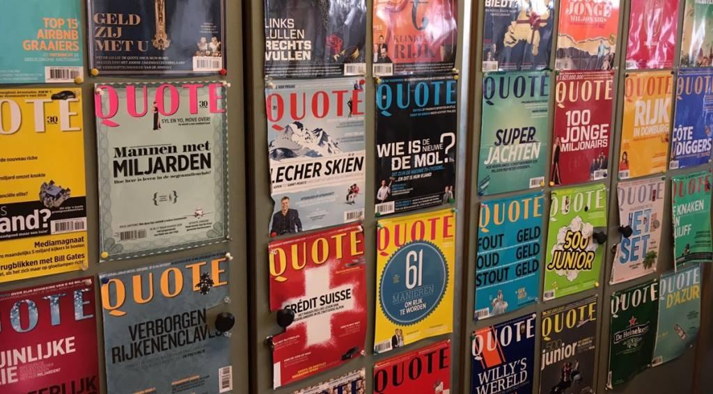 KLAUWE bij Quote Magazine