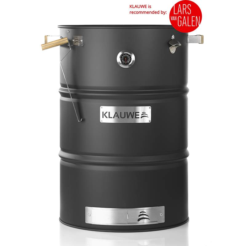 Der KLAUWE Premium, the bbq & smoking drum