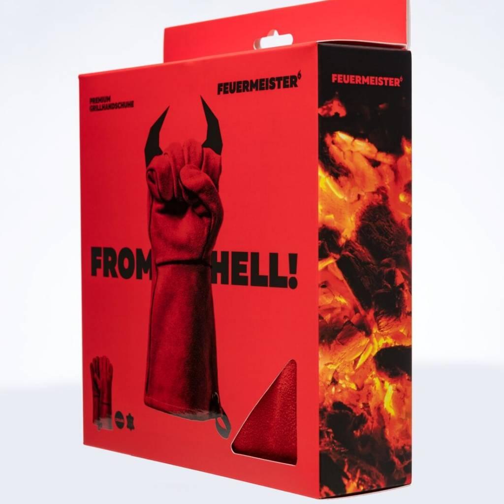 Feuermeister® Premium Leder Grillhandschuhe