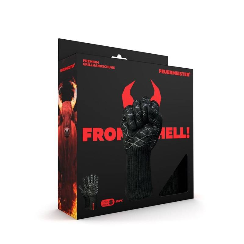 Feuermeister® Premium Aramid Grillhandschuhe