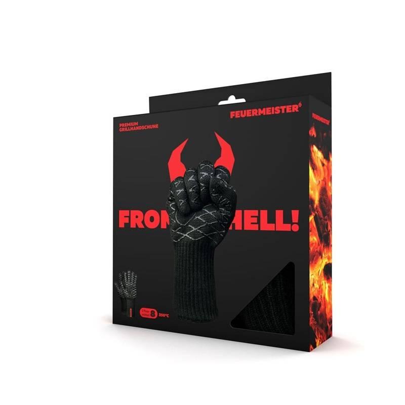 Feuermeister® Premium Aramide Barbecue Handschoenen
