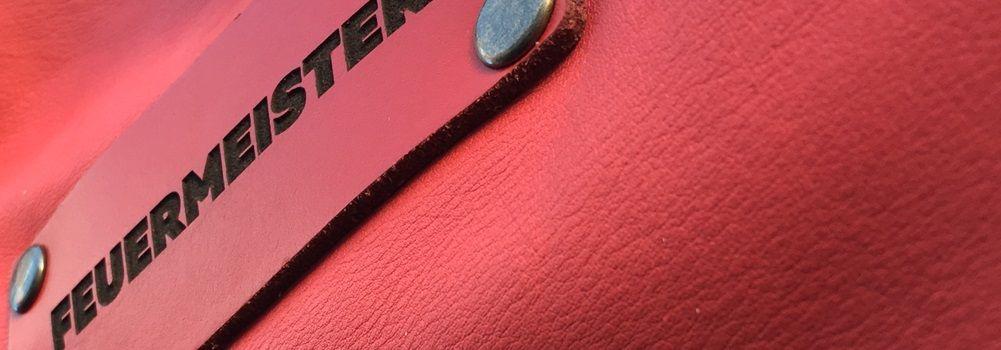 Feuermeister® Premium Leder Schürze