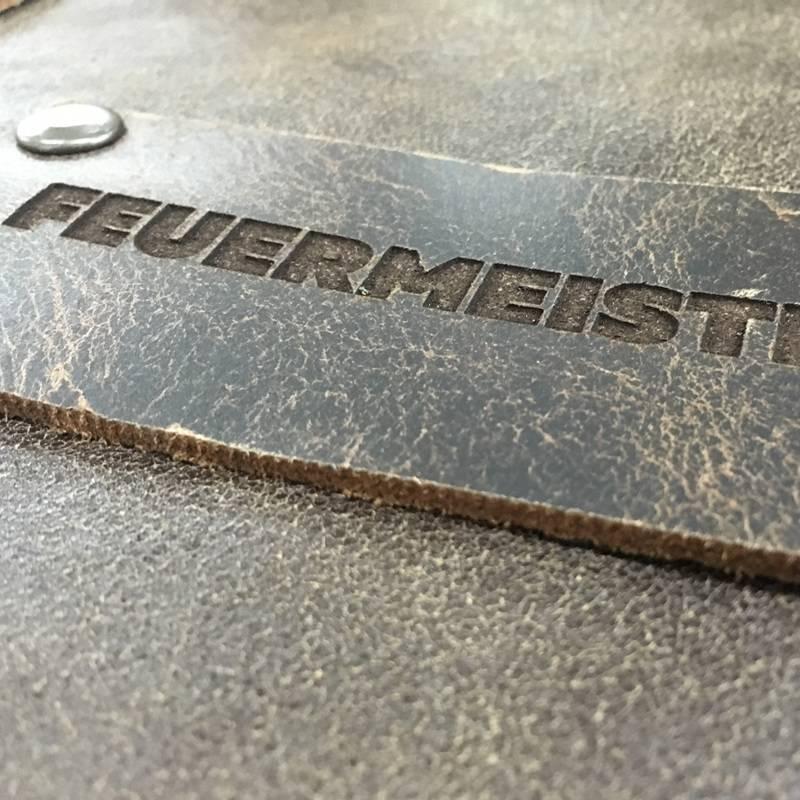 Feuermeister® Premium Leren Schort Cognac