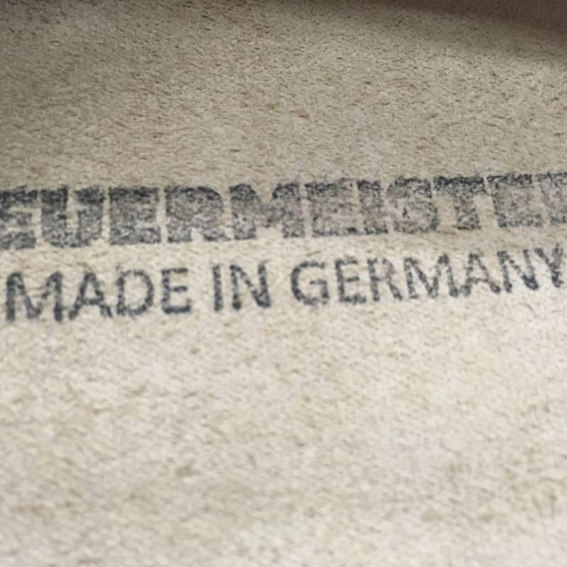 Feuermeister® Leder Schürze Anthrazit