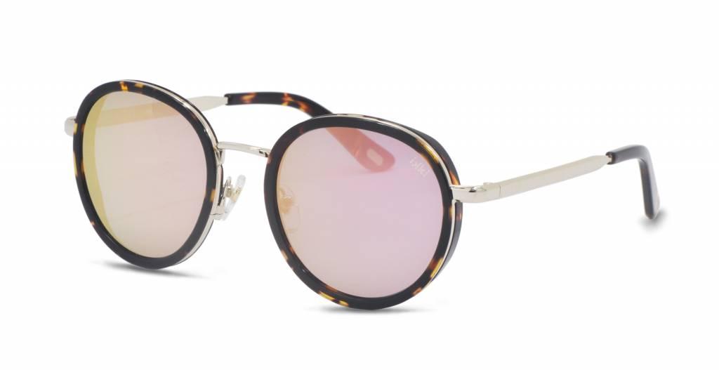IKKI zonnebril Belle tortoise - flash pink 31-2