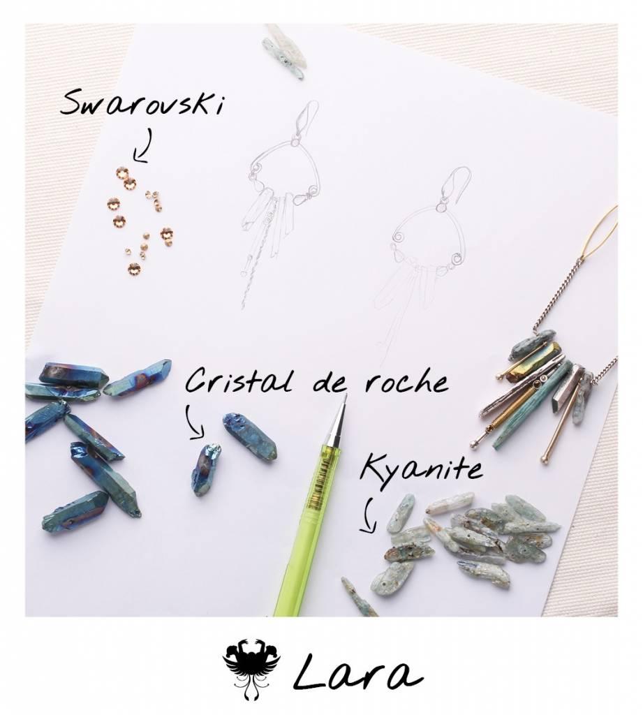 Oorhangers Lara 12 -- 63515