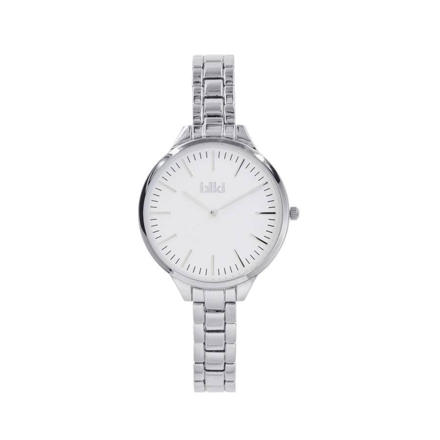 IKKI Sally silver horloge SA01