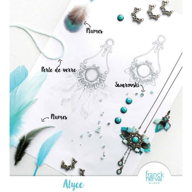 Franck Herval oorbellen collectie Alyce