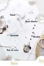 Franck Herval oorbellen collectie Adele