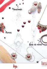Franck Herval oorbellen collectie Lys