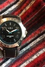 IKKI Jack black horloge JK-01 heren