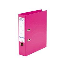 Elba Ordner Elba smart A4 80mm pp roze