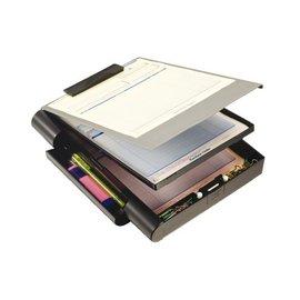 OIC Klembordkoffer OIC 83357 met opbergruimte grijs/zwart