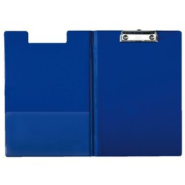 Esselte Klembordmap Esselte 56045 met kopklem en insteek blauw