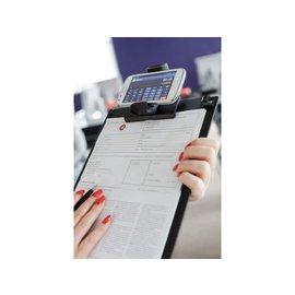 Papierklem Klembord voor gebruik met smartphone Papierklem 60915